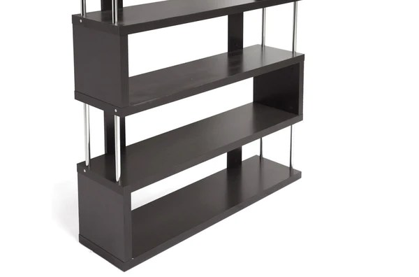 Zhao Bookcase Wenge 6 Tier Froy
