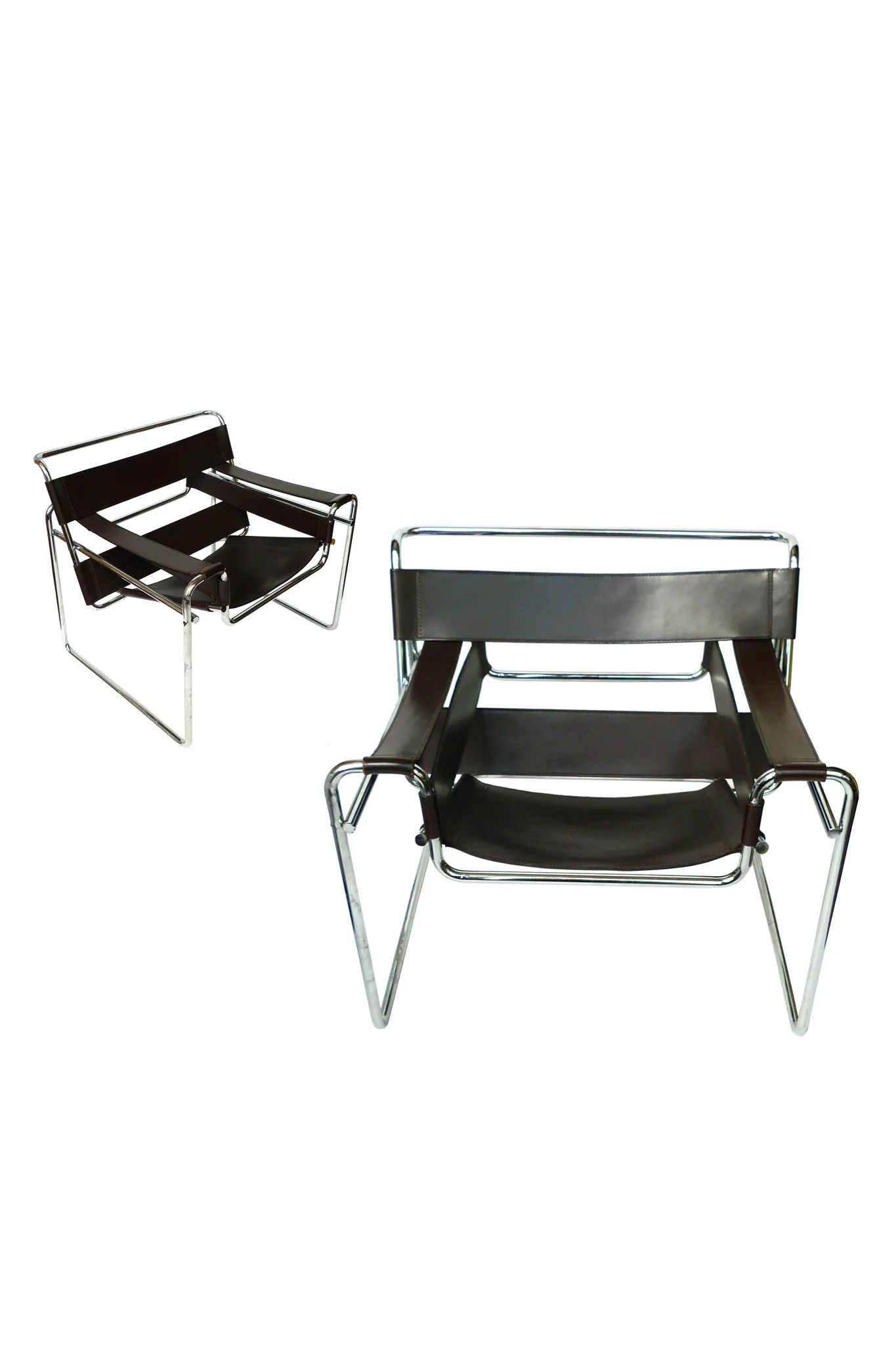 Wassily Chair Wassily Chairs By Marcel Breuer For Knoll A Pair