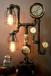 Money making tip for Ebay sellers by making steampunk lamps