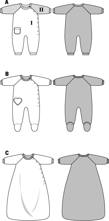 Baby Sleep Sack Uk Burda Pattern Bd9782 Babies 39; Onesie Sleeping Bag Very