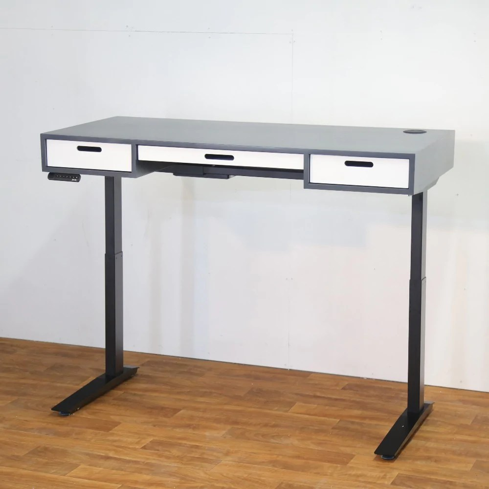 Sit To Stand Desk The E2 Modern Sit Stand Desk