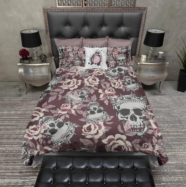 How To Anchor A Kitchen Island Fit For A King And Queen Rose Skull Duvet Bedding Sets