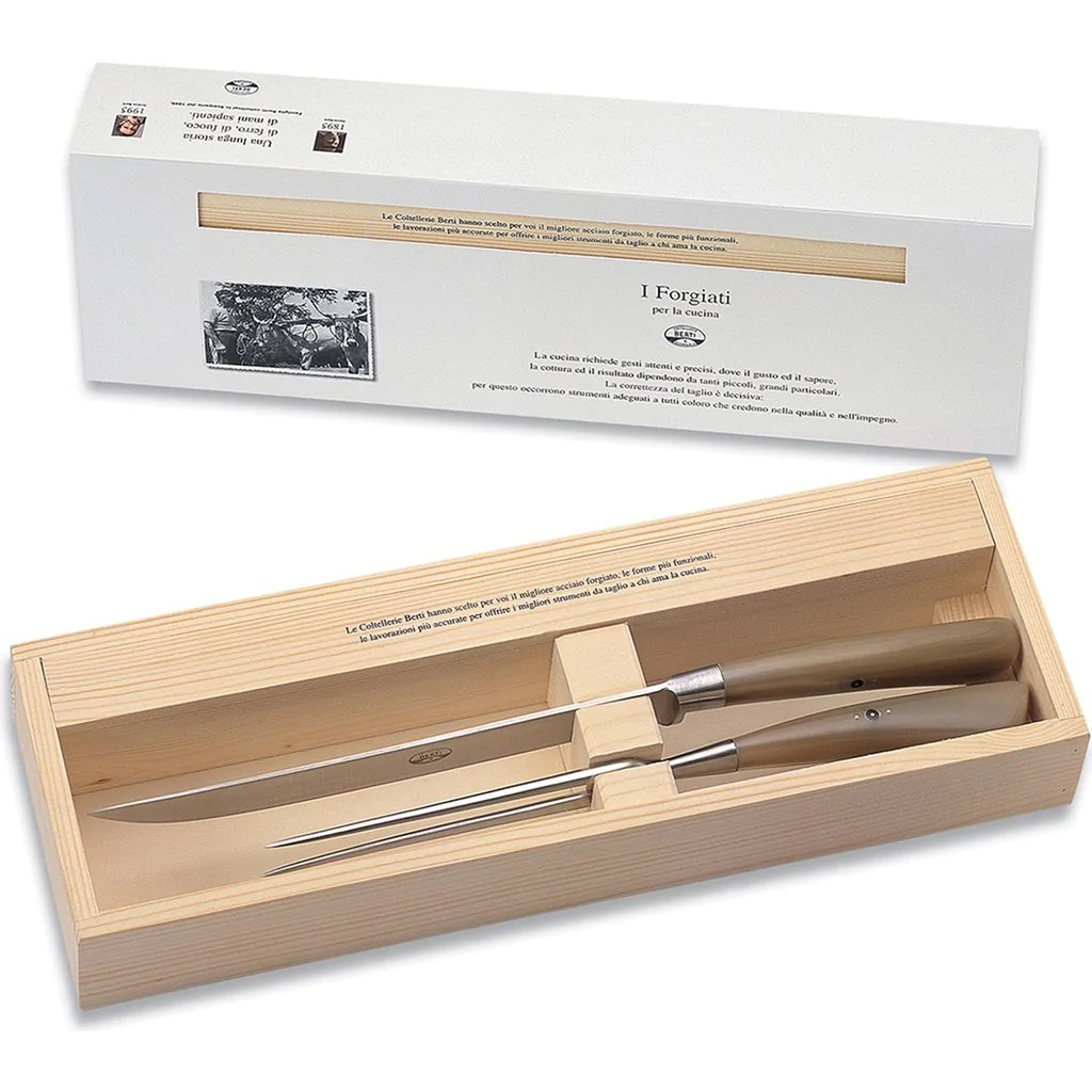 Nella Cucina Products Coltellerie Berti Carving Set
