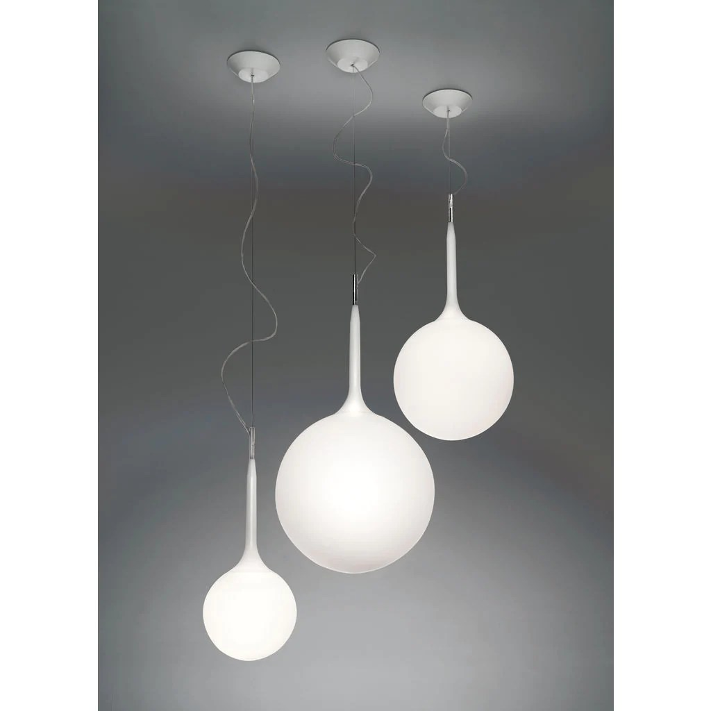 Artemide Suspension Artemide Castore Suspension Lamp White