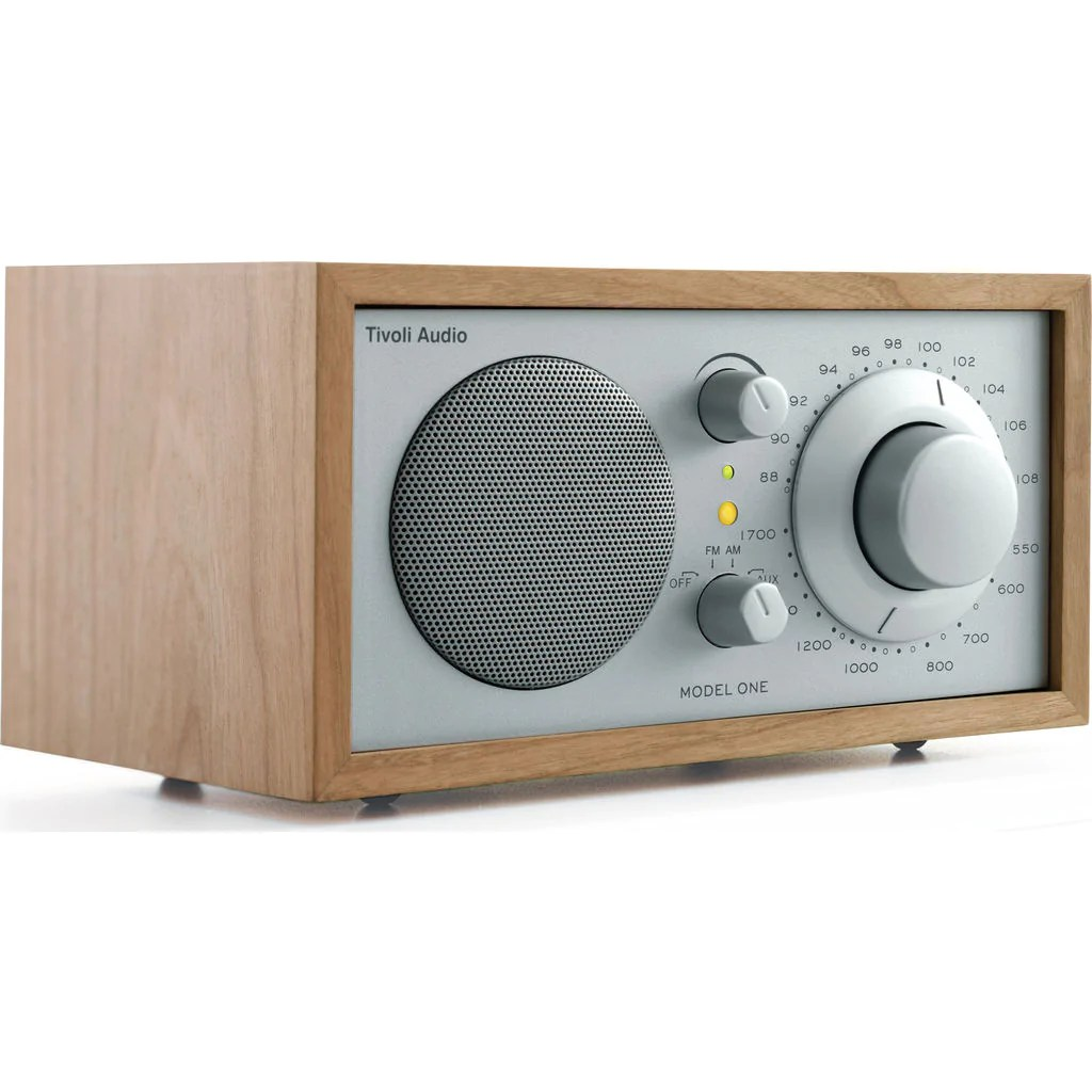 Tivoli Audio Model One Cijena Tivoli Audio Model One Speaker Radio Silver Cherry Sportique