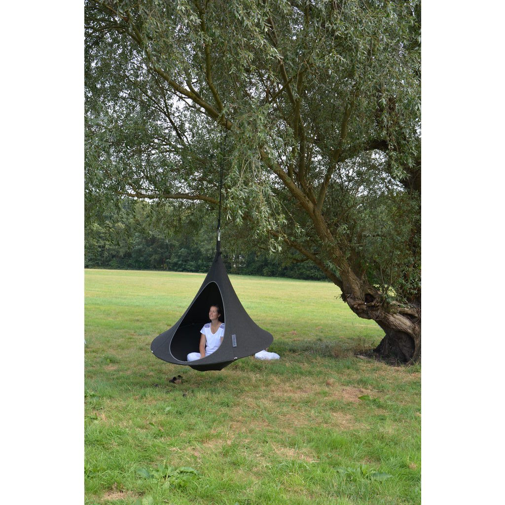 Cacoon Cacoon Olefin Hanging Hammock Charcoal