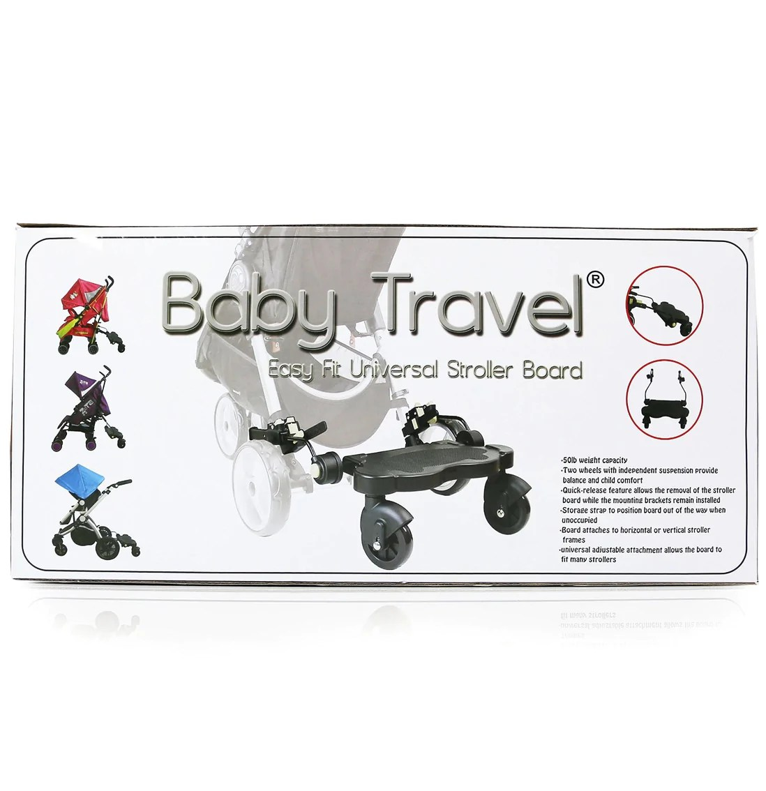 Buggy Board Hartan Topline S Montage Buggy Board For Isafe Travel System