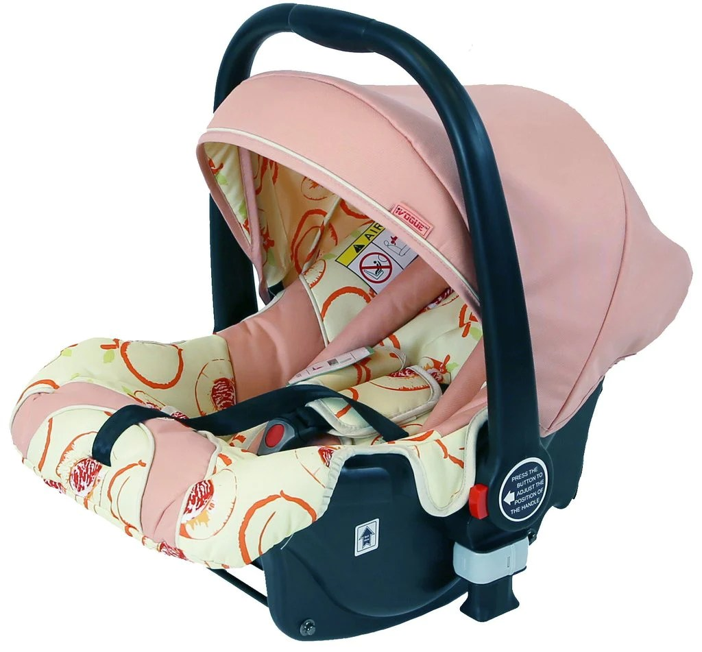 Car Seat Carrier Stroller Ivogue Infant Car Seat Peach Compatible With Ivogue Pram System