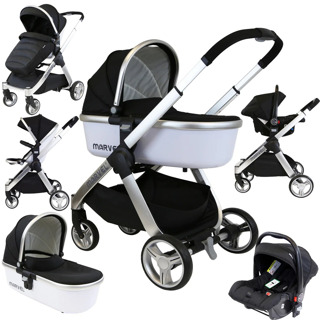 Baby Pram Stroller Pushchair + Car Seat Carrycot Buggy Travel System Sale Now On Save Up To 50 Luxury Baby Prducts By Isafe