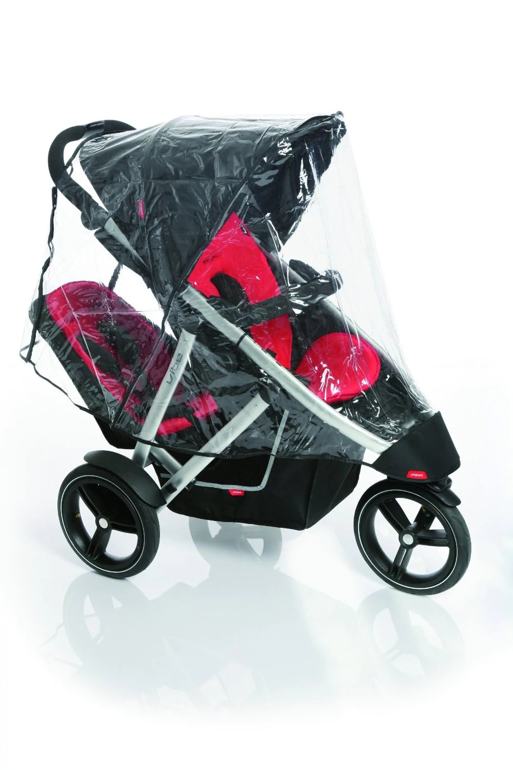 Double Stroller Rain Cover Parts Accessories Weather Shields For Double Strollers