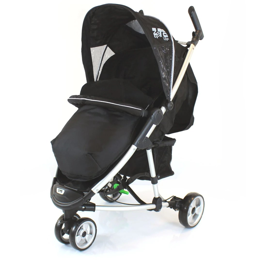 3 Wheel Prams Argos Black Footmuff With Puches Fits Baby Jogger City Mini Micro Stroller Pushchair