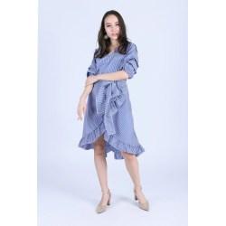 Small Crop Of Dark Blue Dress