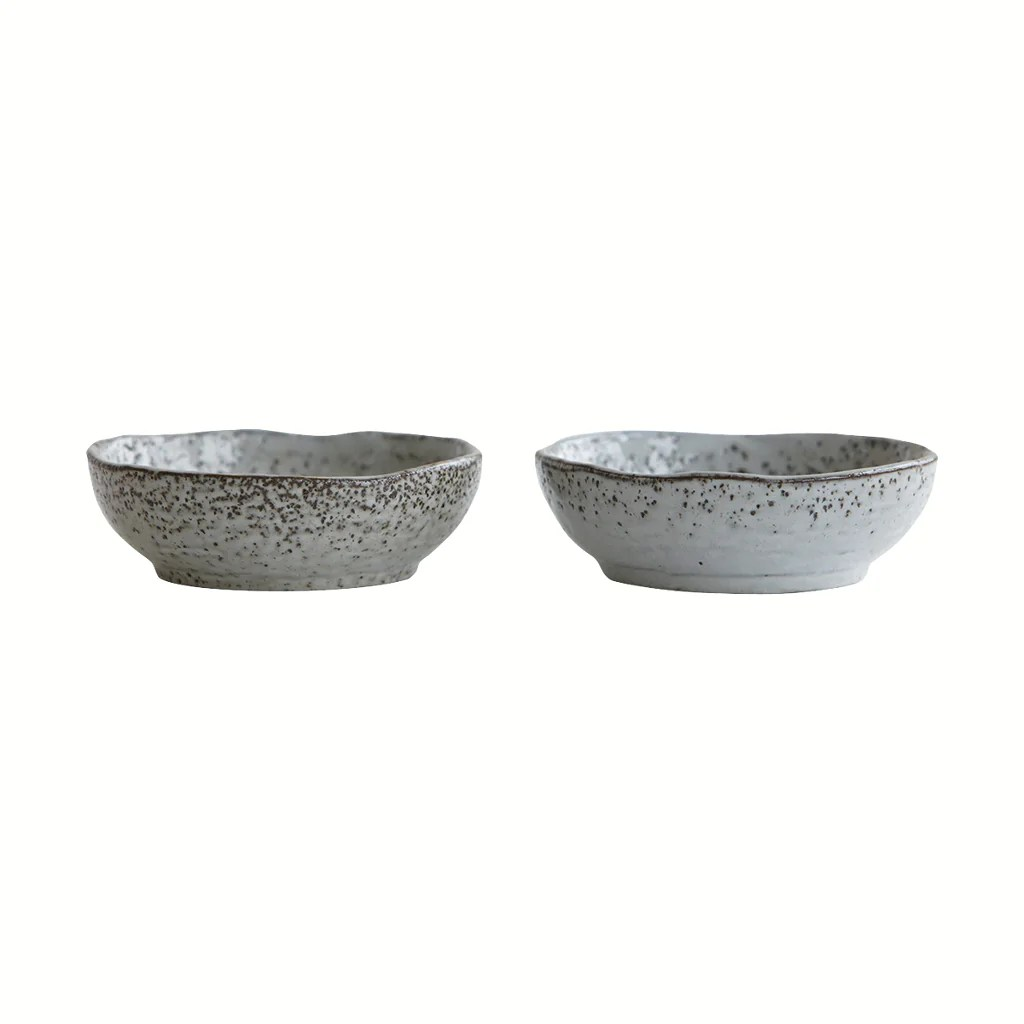 House Doctor Rustic Bowl Rustic Grey Dipping 11 5cm By House Doctor
