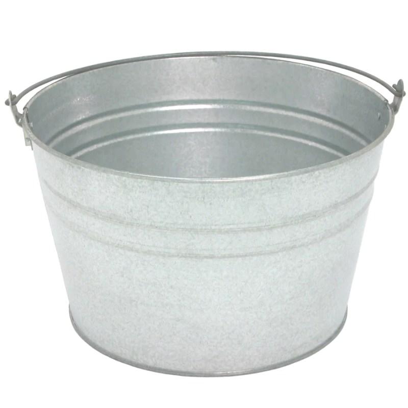 Large Of Galvanized Wash Tub