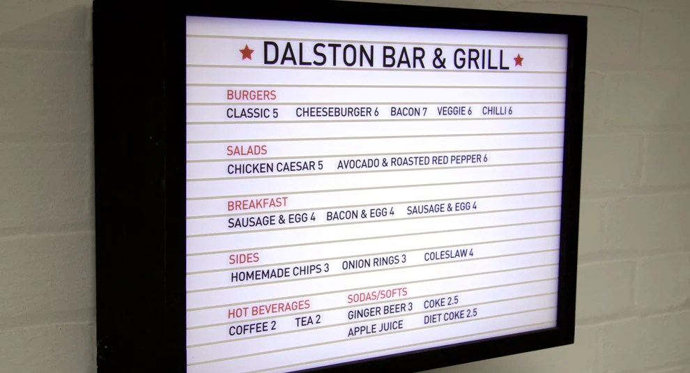 FROM CINEMA MARQUEE CHANNEL LETTER SIGN https\/\/cdnshopify\/s - catering menu template free