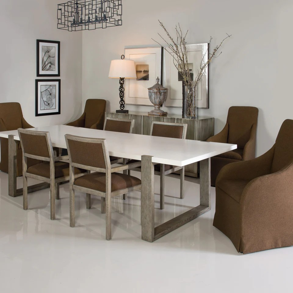 Table Luxe Hadleigh Dining Table Bernhardt Interiors Luxe Home Philadelphia