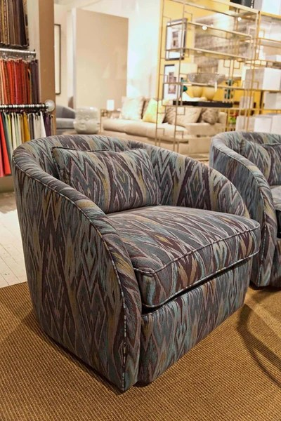 Turner Swivel Chair Bernhardt Furniture Luxe Home