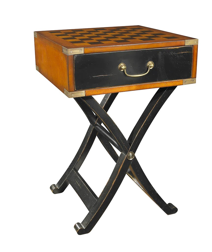 Chess Table Grandmaster S Box Timber Chess Board Side Table