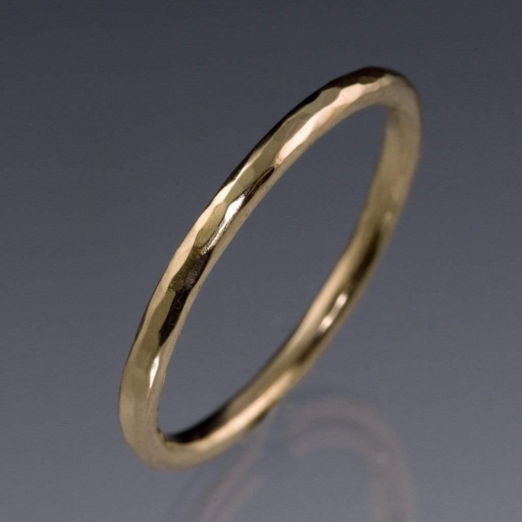 skinny hammered texture thin wedding band thin wedding bands Skinny Hammered Texture Thin Wedding Band by Nodeform