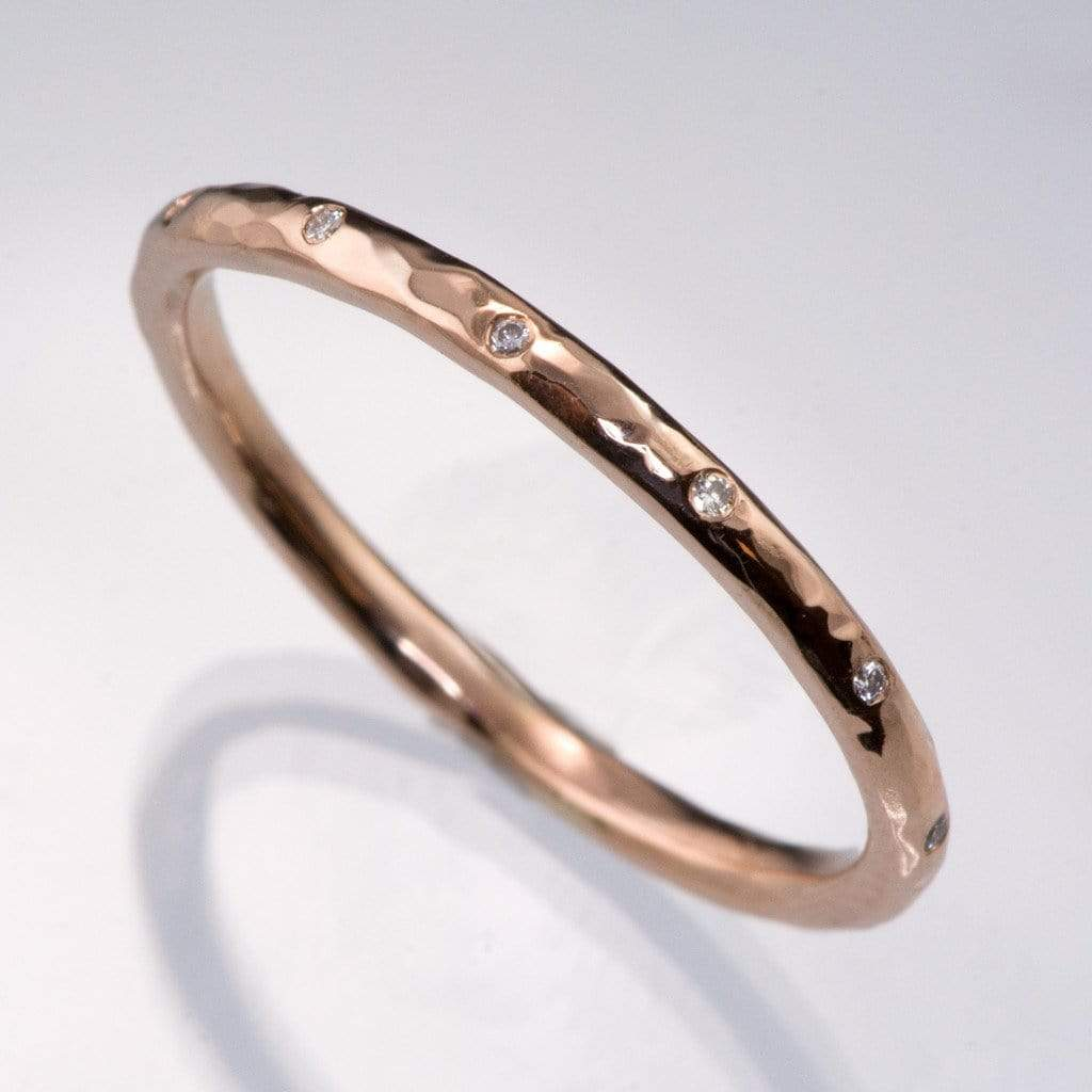 thin wedding bands mismatched wedding rings Google Search