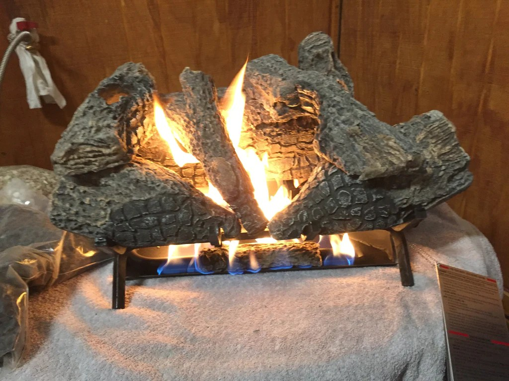 Ceramic Logs For Gas Fireplace Fyre Lite Vented 21