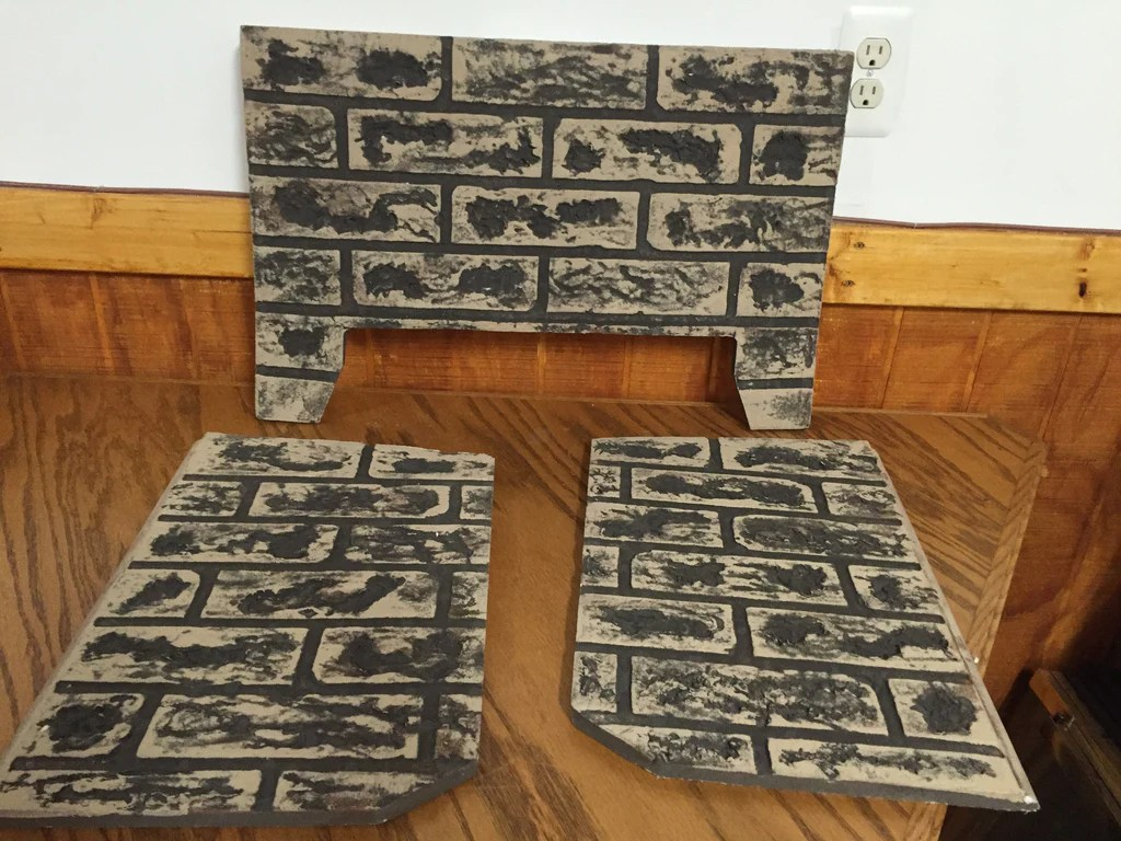 Refractory Brick Kingsman 3 Piece Refractory Brick Liner For Direct Vent