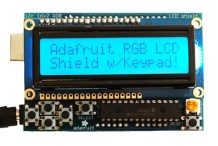 Positive Rgb Lcd Shield Kit w/ 16x2 Character Display
