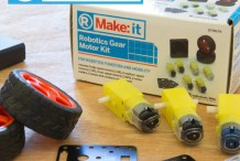 Make:it Robotic Gear Motor Kit