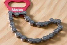 Make: Bike Chain Keyring