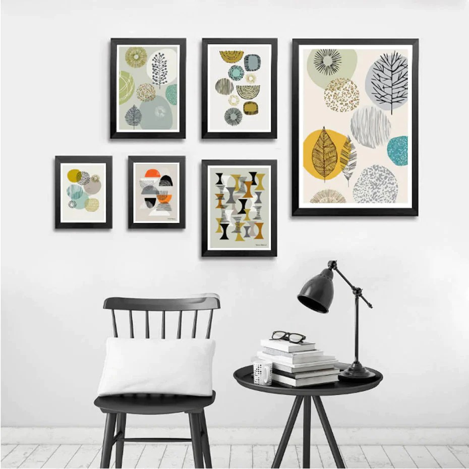 Wall Art Prints And Posters Abstract Nordic Wall Art Prints Geometric Patterns Colorful Contemporary Canvas Posters For Modern Office Interiors And Stylish Home Decor
