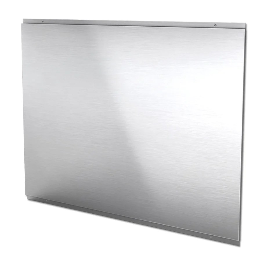 Stainless Steel Splashback Cda Csb9ss 900mm Stainless Steel Splashback
