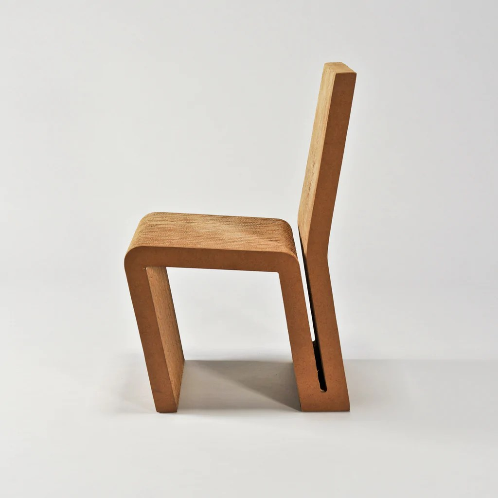The Modern Archive Side Chair By Frank Gehry