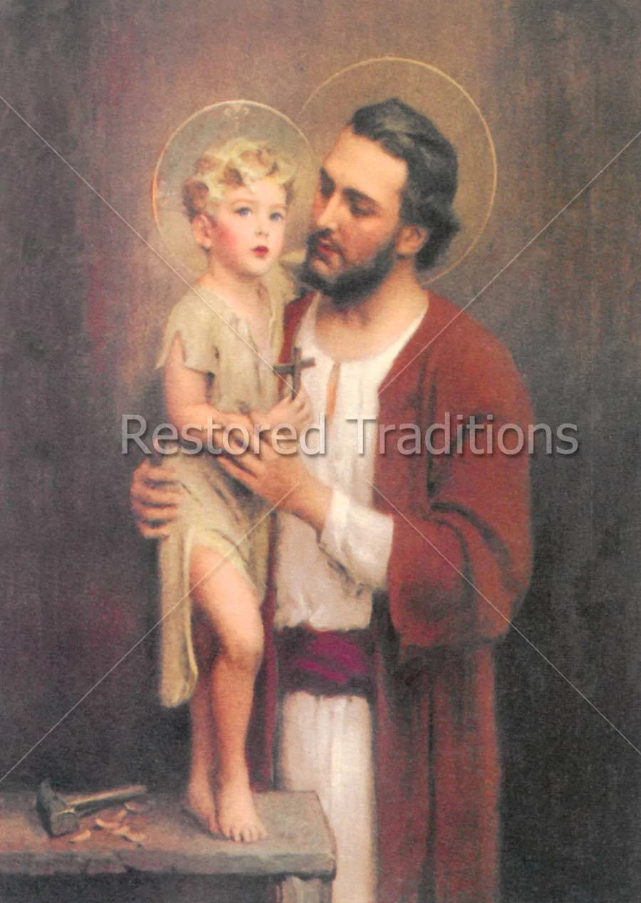 Joseph Und Joseph High Res Image Joseph Christ Child In Carpenters Shop