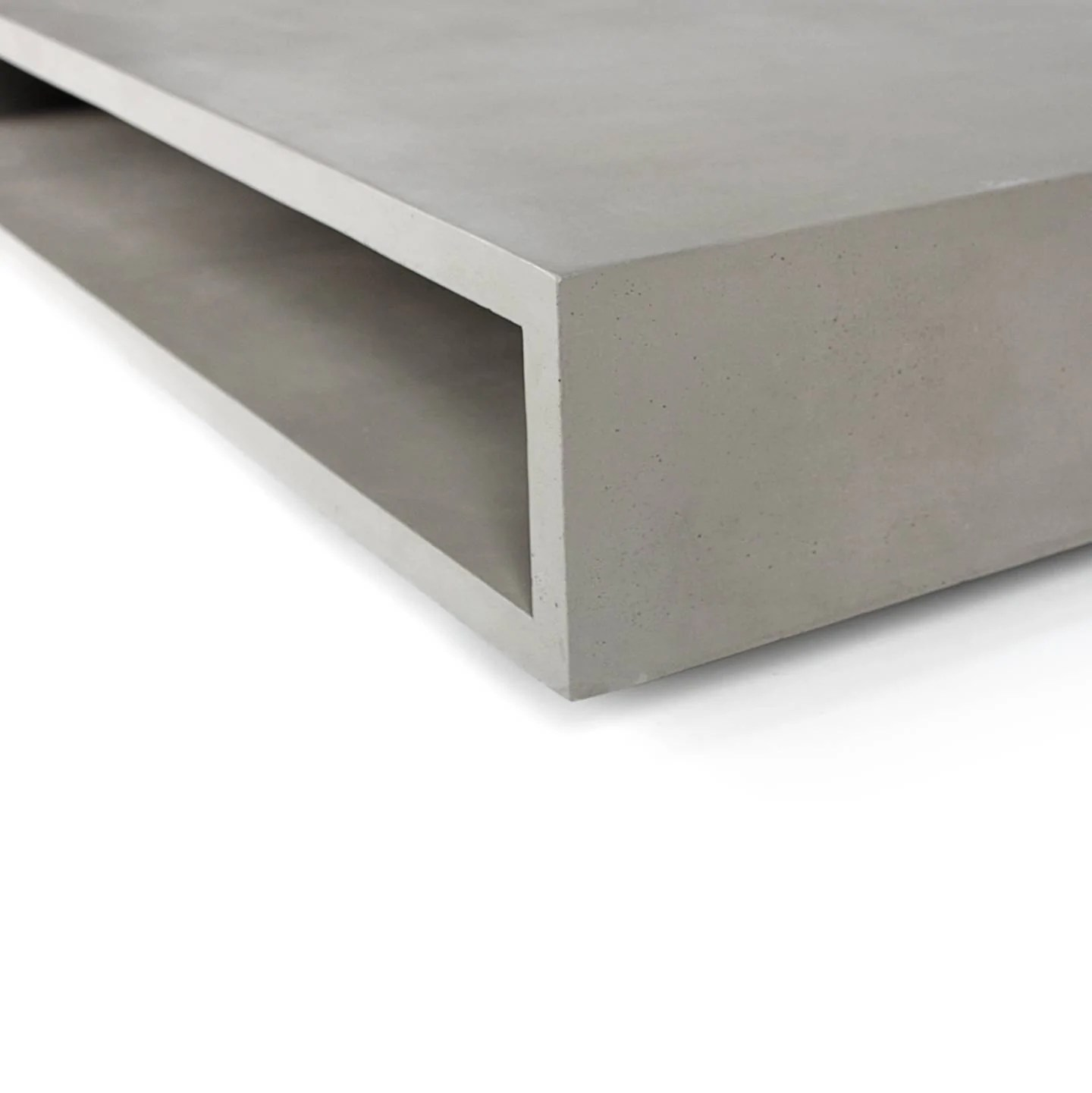 Table Basse En Beton Monobloc Xl Coffee Table By Lyon Béton