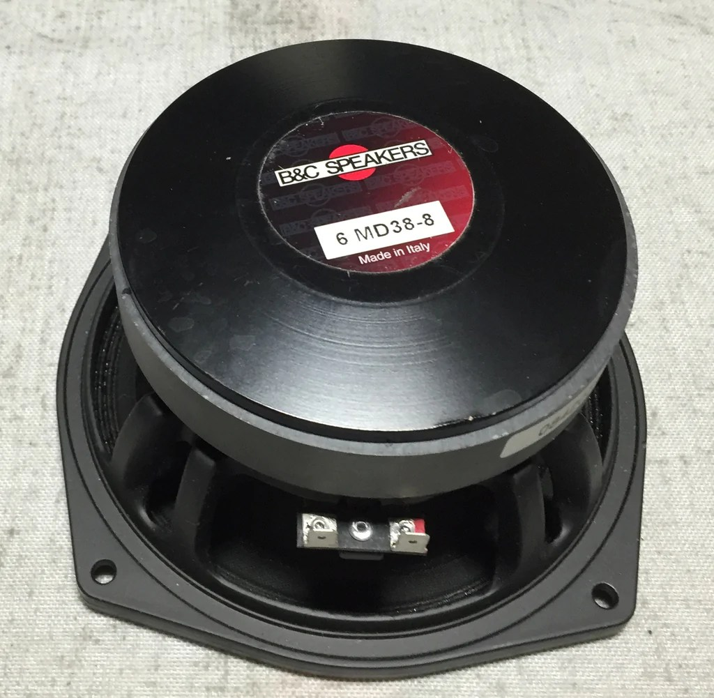 Speaker Equipment B C Speakers 6 Md38 8 6