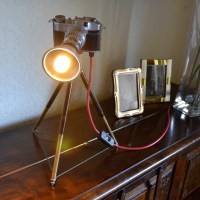 Table lamp/Desk light - 'The Comet' Funky unusual lighting ...
