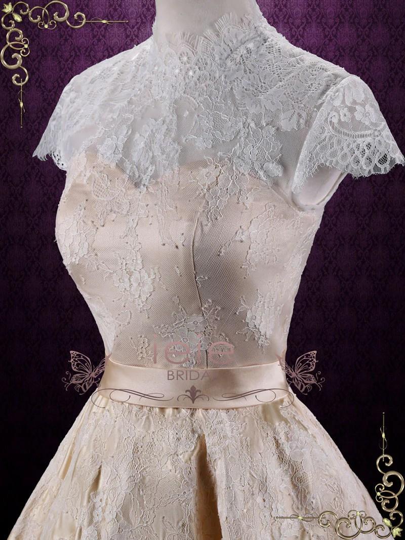Fullsize Of Short Lace Wedding Dress