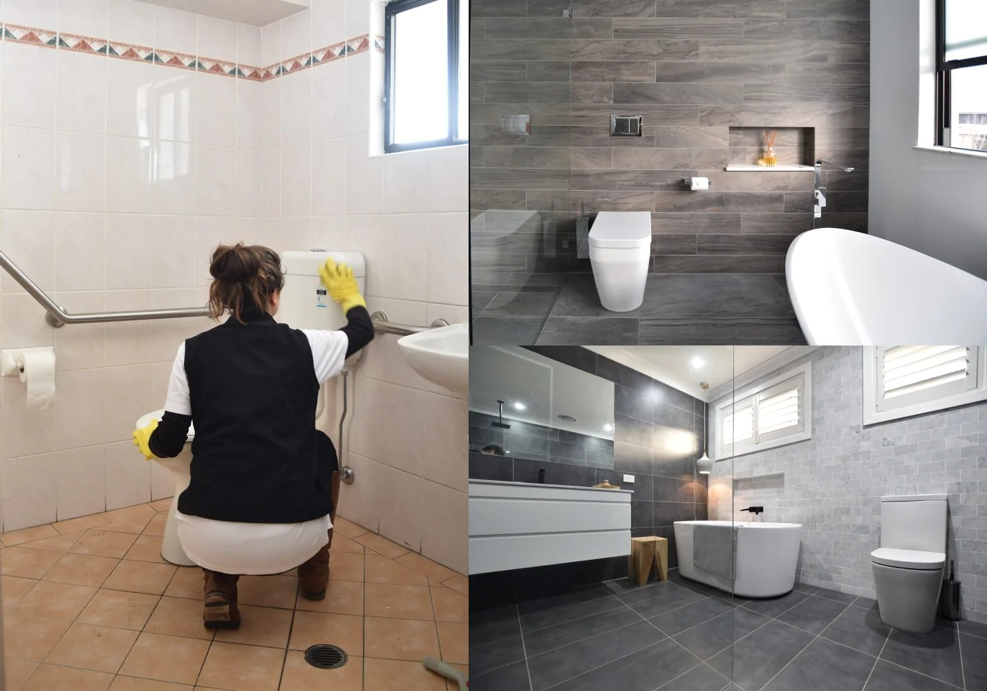 How To Make Your New Bathroom Easy To Clean By Design 5 Tips Ats Tiles Bathrooms