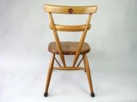 2 x Ercol school chairs - eyespy