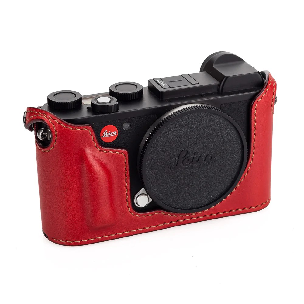 Arte Di Mano Half Case Arte Di Mano Half Case For Leica Cl With Battery Access Door