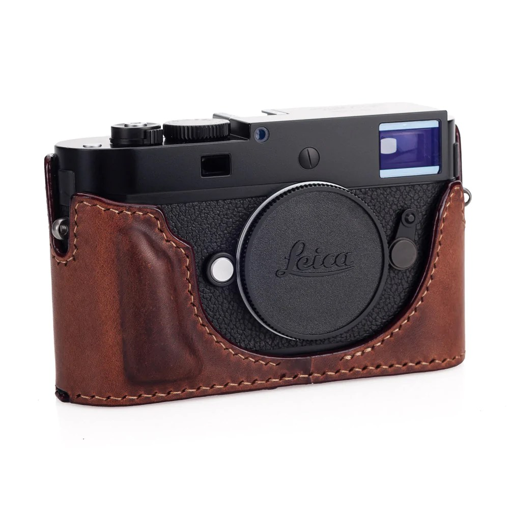 Arte Di Mano Half Case Arte Di Mano Half Case For Leica M D Typ 262 With Battery Access