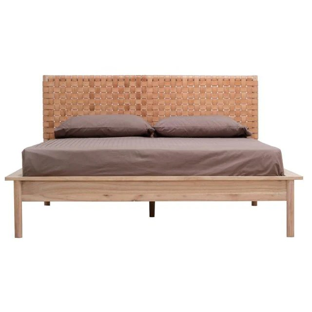 Seed Leather Queen Bed Furniture Stores Melbourne Beds