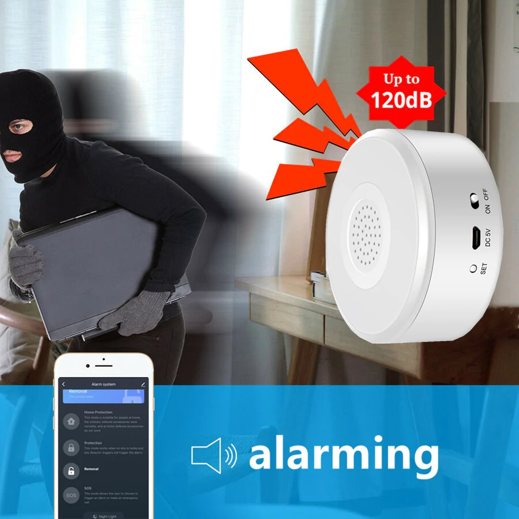 Home Security System Wifi Alarm System Kit Zegoal