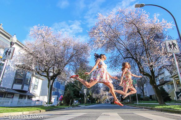 Jigme Nehring, Courtney Watkins, Jump for Joy Photo Project