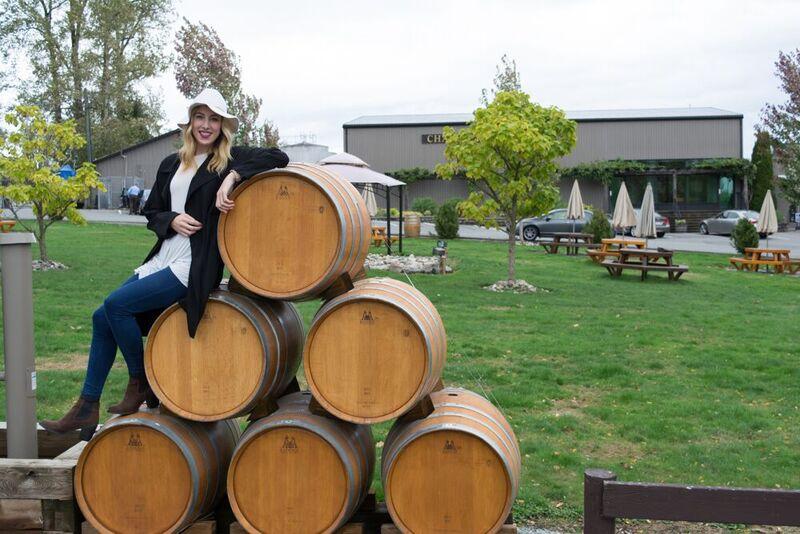 Emily Chatrand at Chaberton Winery