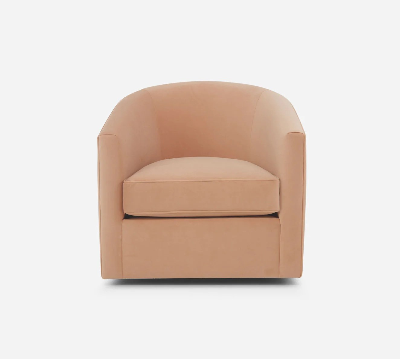 Barrel Swivel Chair Ravine Home