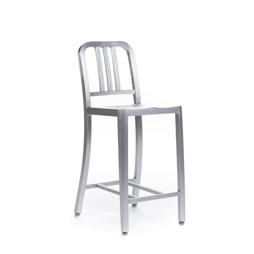 Tabourets De Bar Alu Tabouret Bar 1006 Navy 30