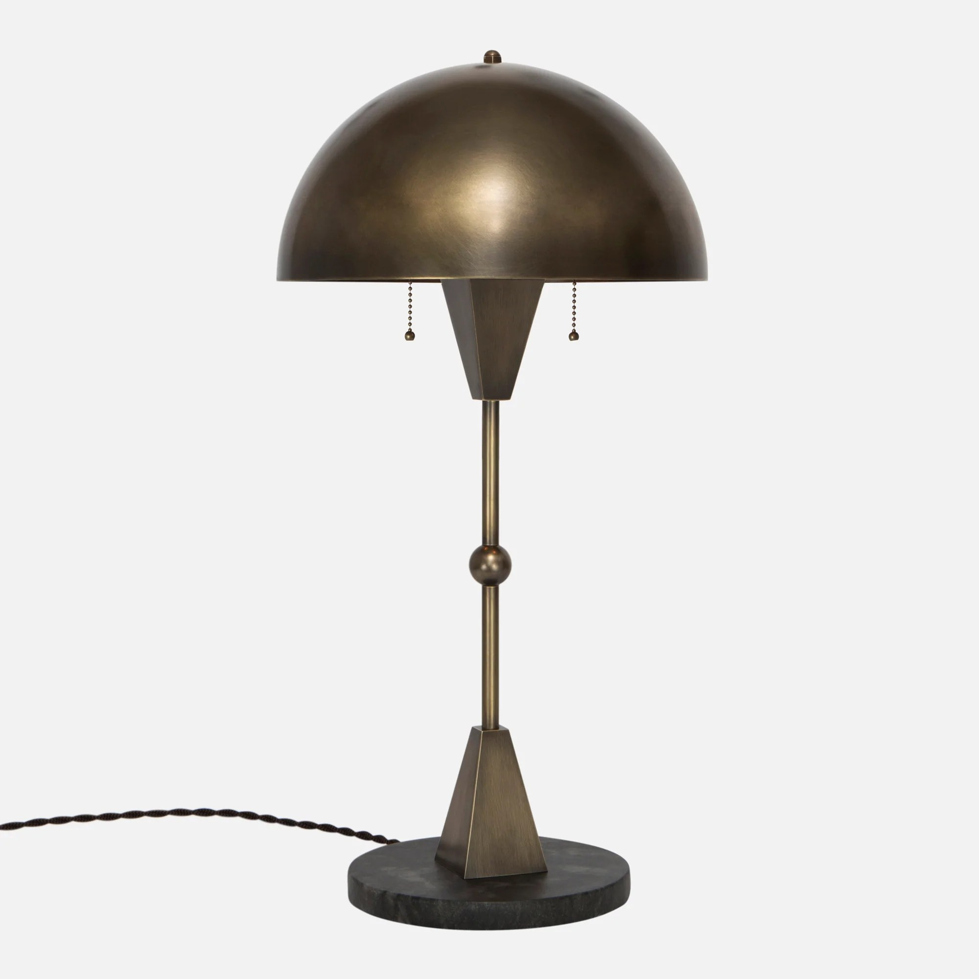 Vintage Table Lamps Dome Table Lamp Vintage Brass