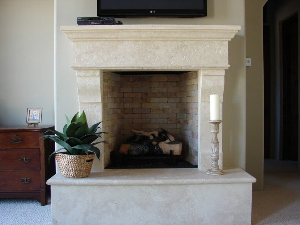 Fireplace Surround Ideas Best Stone Choices Installation And Tips