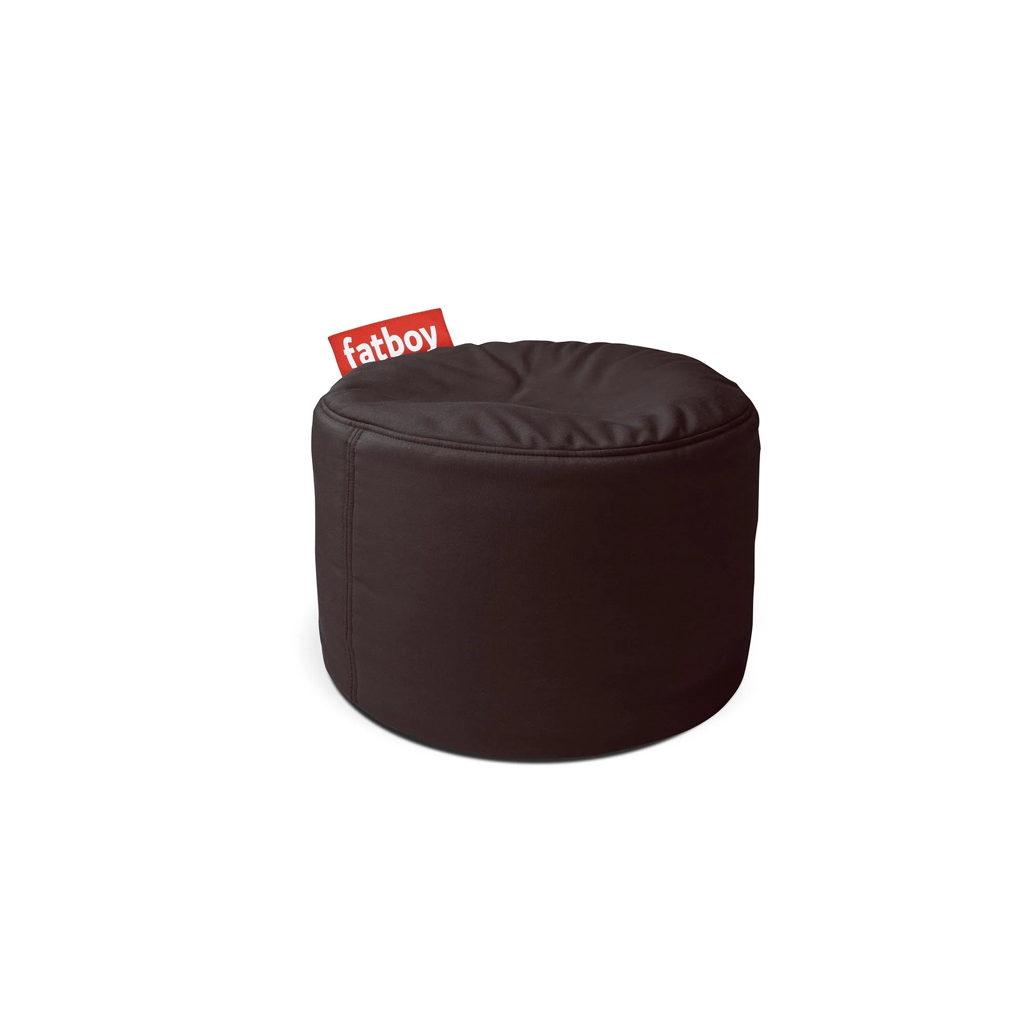 Point Outdoor Pouf Ottoman Brookstone